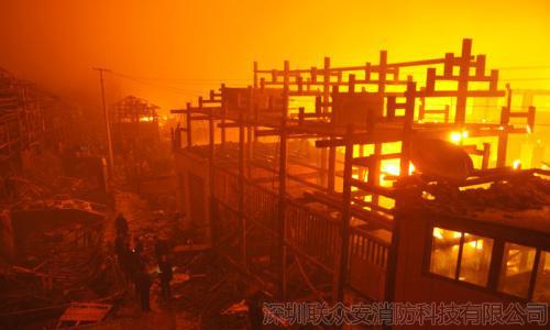 """""""亚洲最高塔""""烧毁,保护木结构建筑,消防人可以做什么?"""